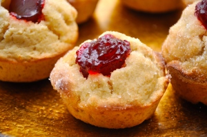 Cheery Jam Muffins